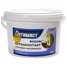"Грунтовка ""бетоноконтакт"" Оптимист 3 кг"
