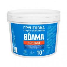 Грунтовка стирол-акрилатная Контакт Волма, 10 л