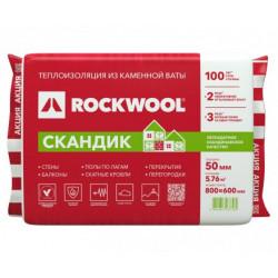 Rockwool Лайт Баттс СКАНДИК 100 мм
