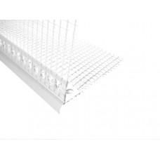 Профиль капельник ПВХ с армирующей сеткой (2,5 м) цена за п.м.